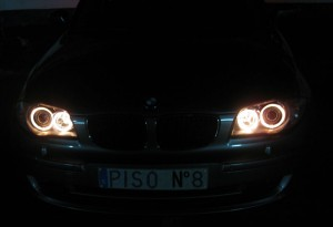 angel eyes de serie bmw 1